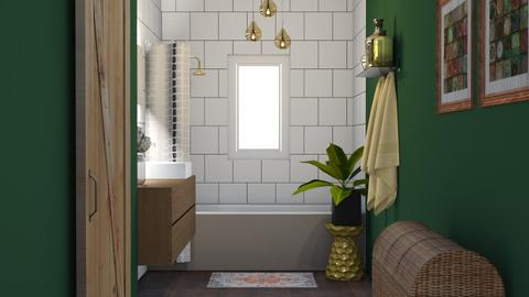 Boho Bath - Bathroom - by kyrabaldwin