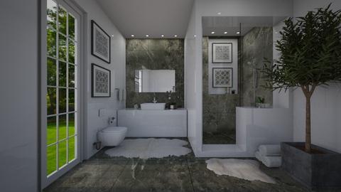 Bathroom_4 - Bathroom - by AmbianceG