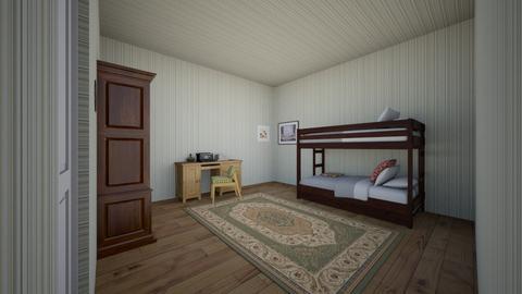 Kit - Vintage - Bedroom - by kittytarg