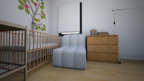Nursery Room Alexander 3 - Eclectic - Kids room - by Amatyst