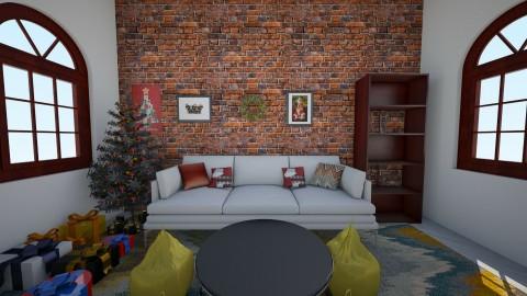 merry brokemas - Modern - Living room - by BlacBree