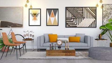 Lynch - Modern - Living room - by millerfam