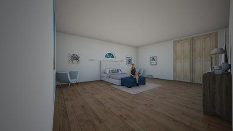beach dream - Bedroom - by bebe_bazemore22