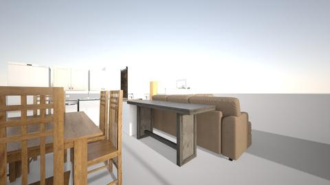 wall divider 2 - Minimal - Office - by Ktrose8349