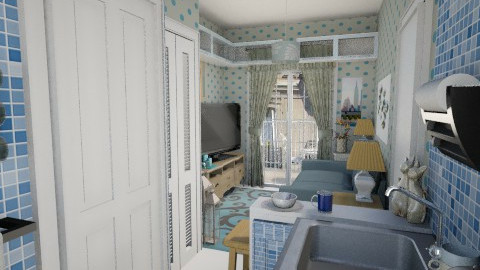 Paris tiny room - Vintage - by Lackew