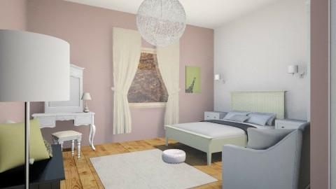 classic bedroom - Bedroom - by amandine evieux