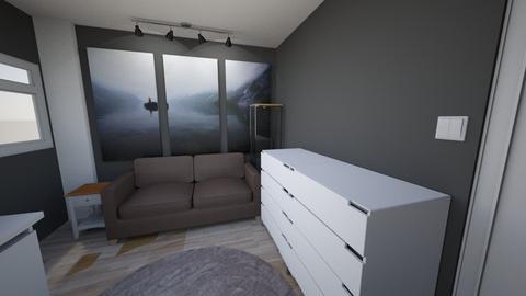 Villa Indah - Minimal - Bedroom - by MahathirMohamad_