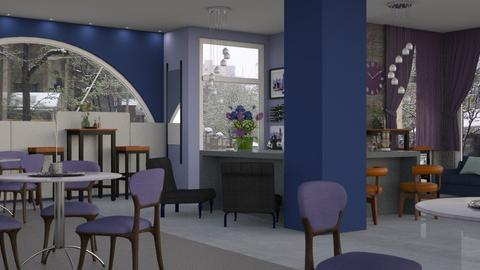 Cafe - Modern - Dining room - by Jessica Fox