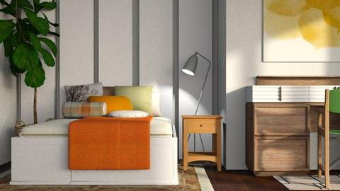 Autumn Bed - Country - Bedroom - by stephendesign