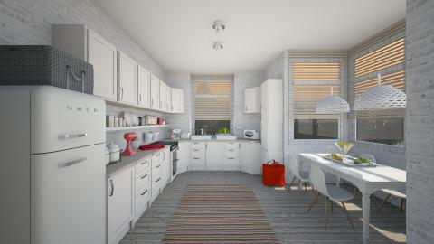 skandi kitchen - Kitchen - by Dibiduu