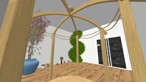 dream house - Garden - by celyn10