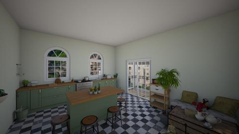 vintage  - Kitchen - by oriane dfn