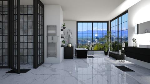 penthouse bathroom - Bathroom - by Danielle_ML