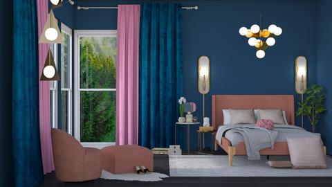 Midnight - Bedroom - by dominicjames