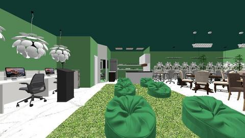 Green Cafe - Modern - by hazem123
