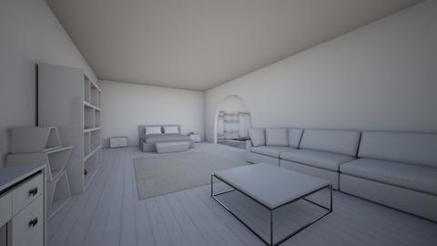 Bedroom angle 1 - Minimal - Bedroom - by Yokeyyok
