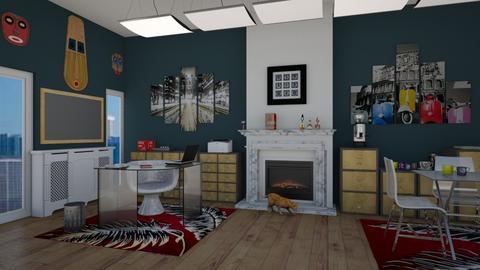 Matilda's eclectic office - Office - by Matilda de Dappere