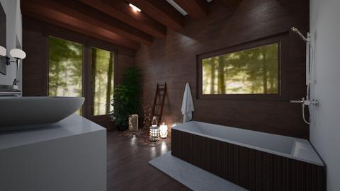 Wood - Rustic - Bathroom - by Denisa250