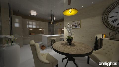 Bunker kitchen - Glamour - Kitchen - by DMLights-user-981898