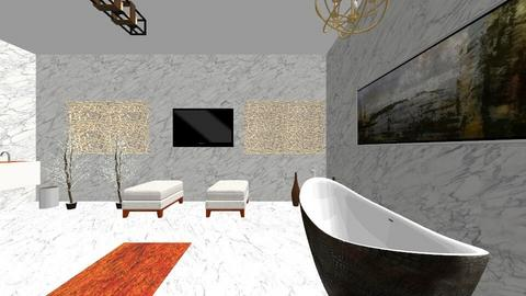 orange brass twist - Bathroom - by stoneyshakur
