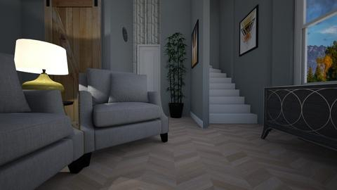 Staircase - Living room - by PenAndPaper