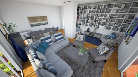 Chiara2 - Living room - by valeria79