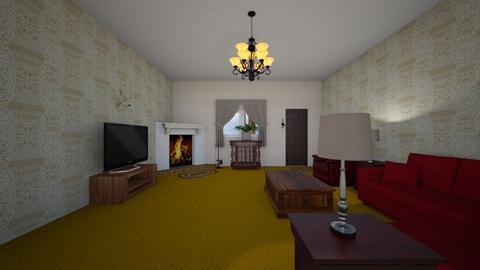 Parent Home - Living room - by WestVirginiaRebel