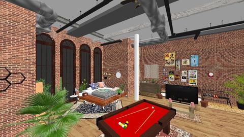 plan work  - Bedroom - by Alexandra Ritchey