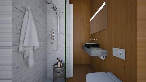 Casa383Bathroom - Modern - Bathroom - by nickynunes