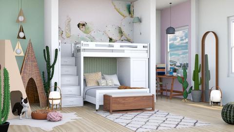 Girls bedroom - Kids room - by jagwas