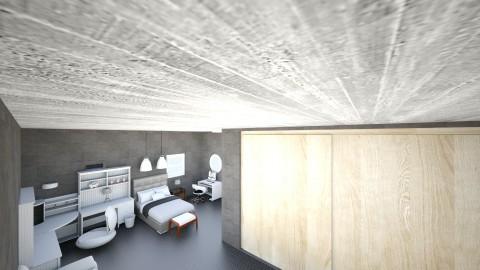 loft bedroom - by balbuenanathally