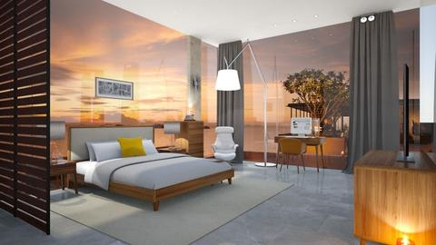 Freedom  - Modern - Bedroom - by Valeria Nesterova