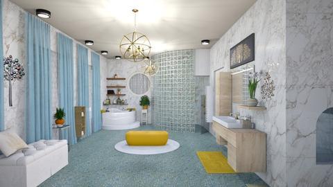 Mstr Bthrm - Glamour - Bathroom - by alonatech_2nd