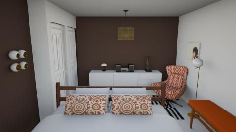 Bedroom redesign Elise - Bedroom - by Elise DR