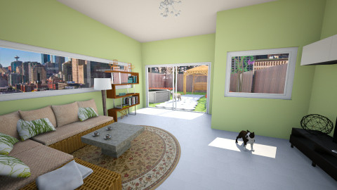 Rent Holiday house - Modern - Living room - by kimiia Sadeghi