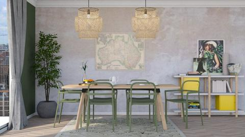 Ikea and me - Modern - Dining room - by HenkRetro1960