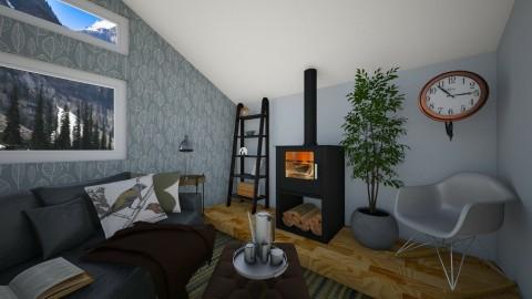 Canadian House - Living room - by Brigid123