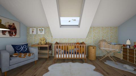 Old school baby edition - Kids room - by zarky