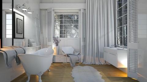 Bathroom  - by NikolinaB26