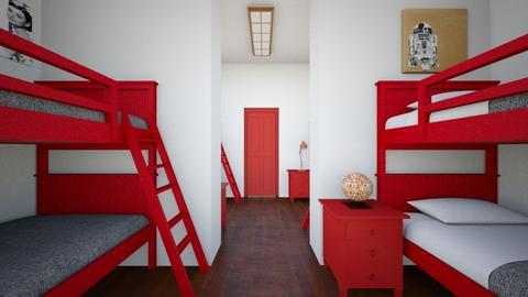 Bunk Room 2 - Kids room - by SammyJPili