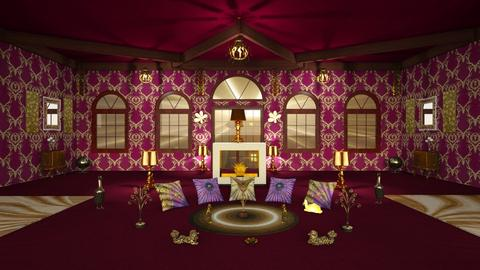 Pink n gold - Eclectic - Living room - by Orionaute