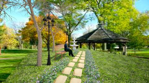 Park - Country - Garden - by Savina Ivanova