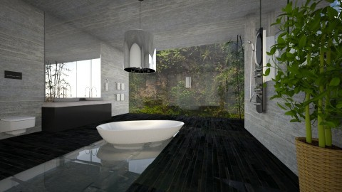 BATHROOM - Modern - Bathroom - by sometimes i am here