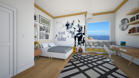 serenade  - Modern - Bedroom - by Nhezi