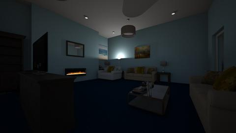 New House Living Room - Living room - by She1113