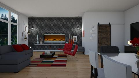 Vibrant - Modern - Living room - by SZdesing