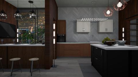 Pad - Modern - Kitchen - by RedPandaRooms