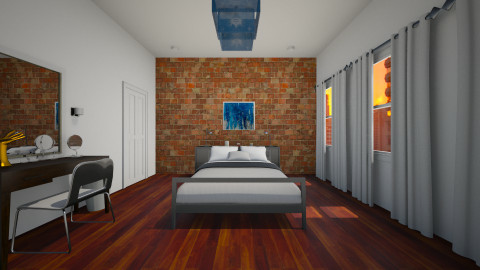 Lucky Wasted Bedroom - Bedroom - by andiavie