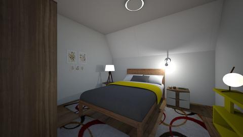 mihai25M - Bedroom - by dianajin