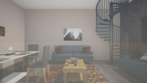1st interior design - Modern - Living room - by imstephaniee_